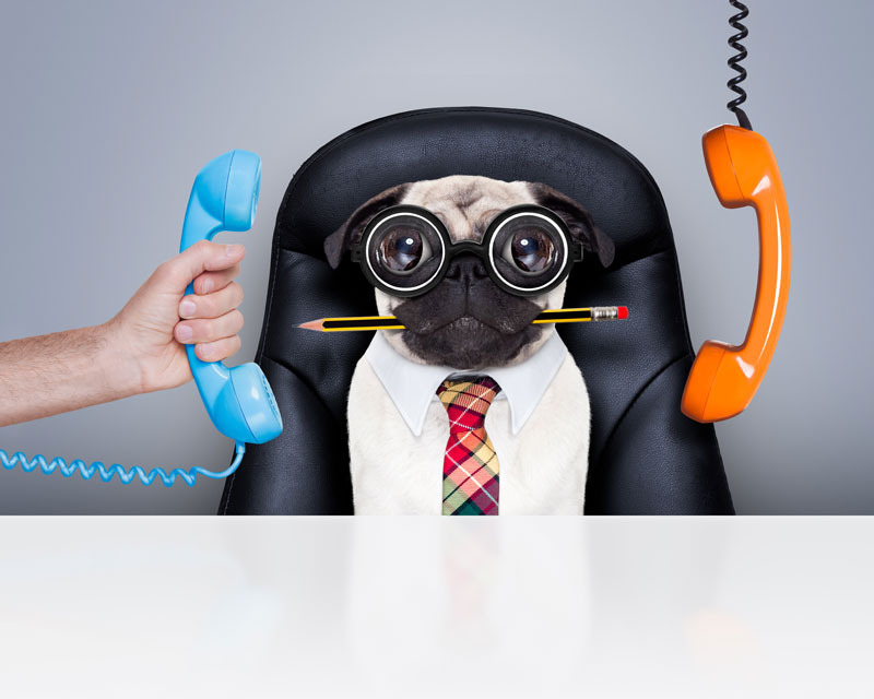 service desk calls