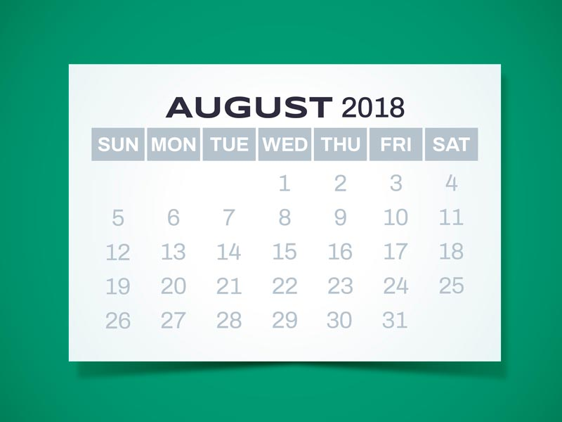 product updates for august 2018