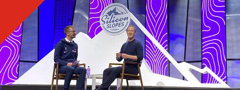 Mark Zuckerberg Silicon Slopes Tech Summit