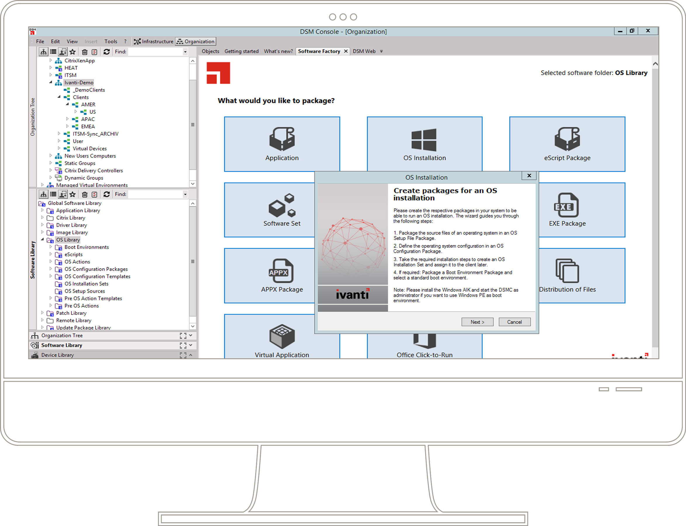 Imaging and OS Deployment | Ivanti
