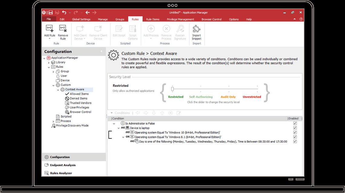 application control ivanti  the solution sheet