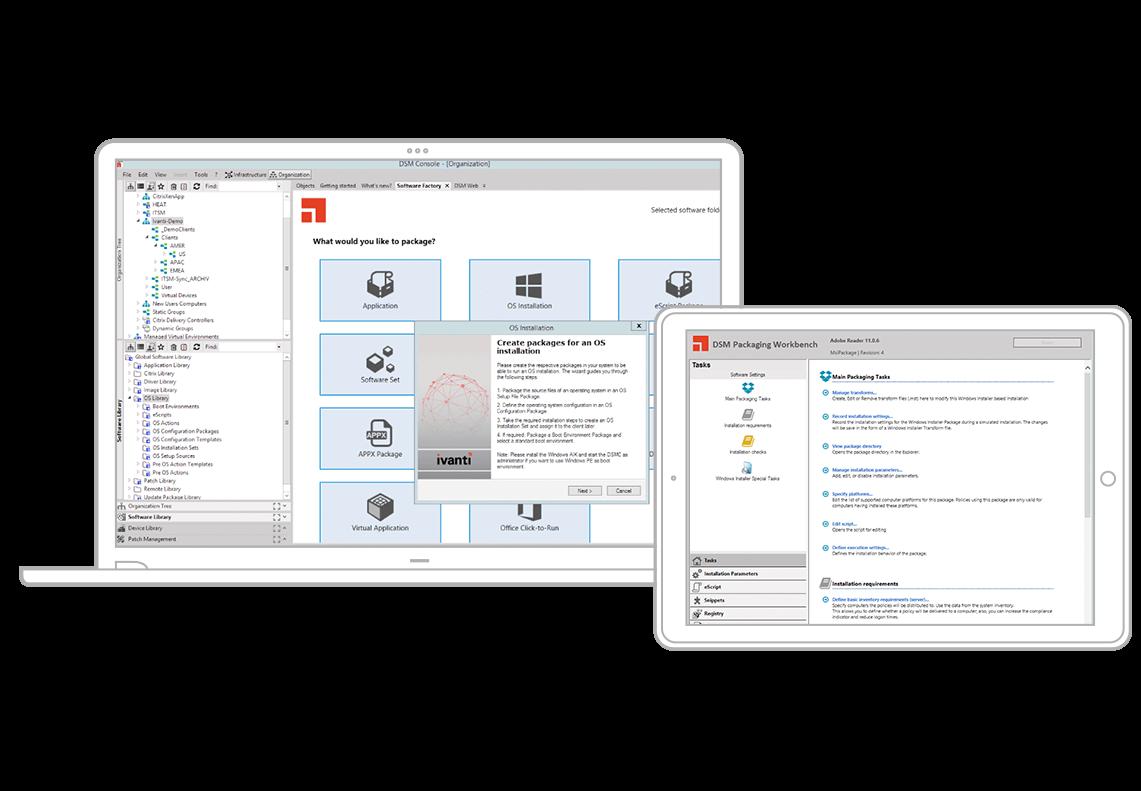 Desktop- und Servermanagement (DSM)