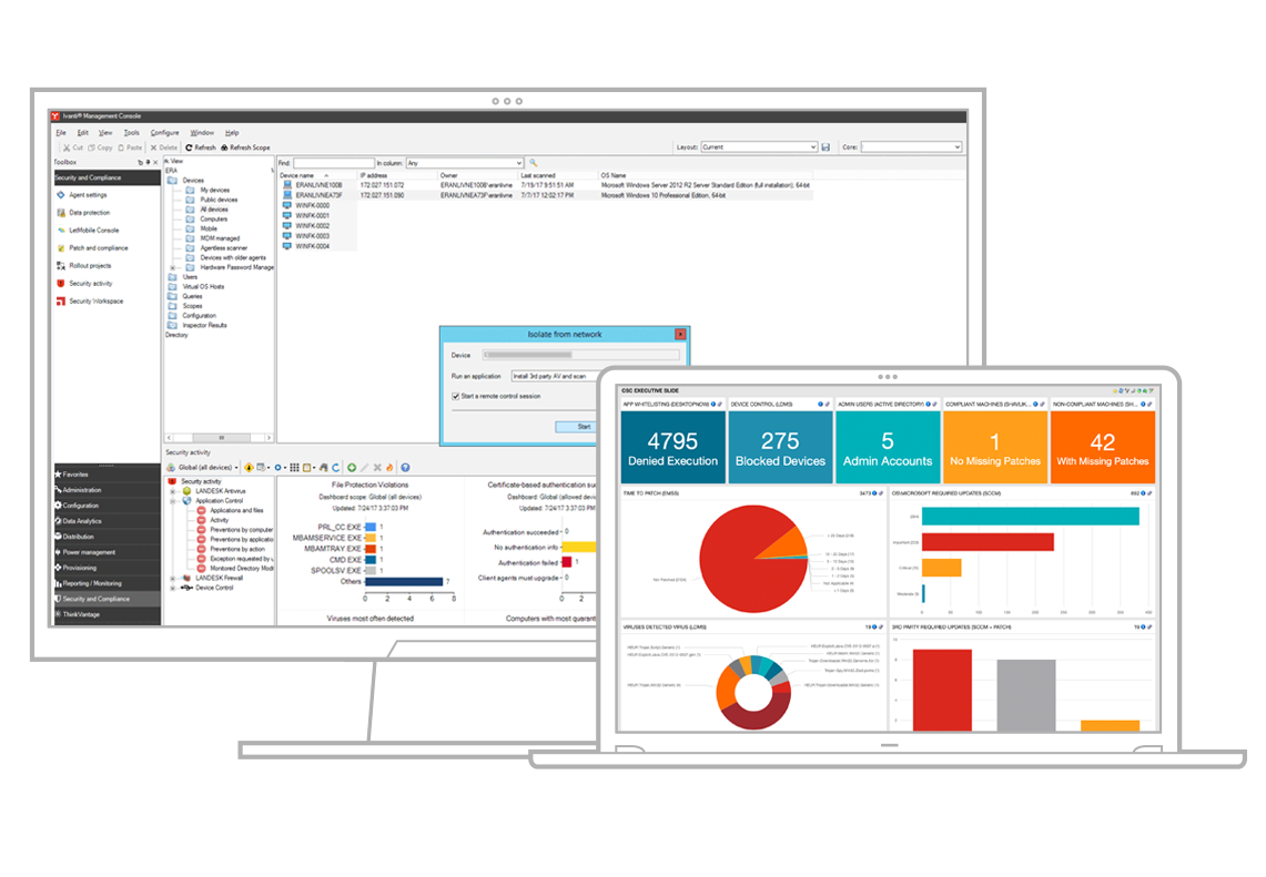 endpoint security for endpoint manager product screenshots