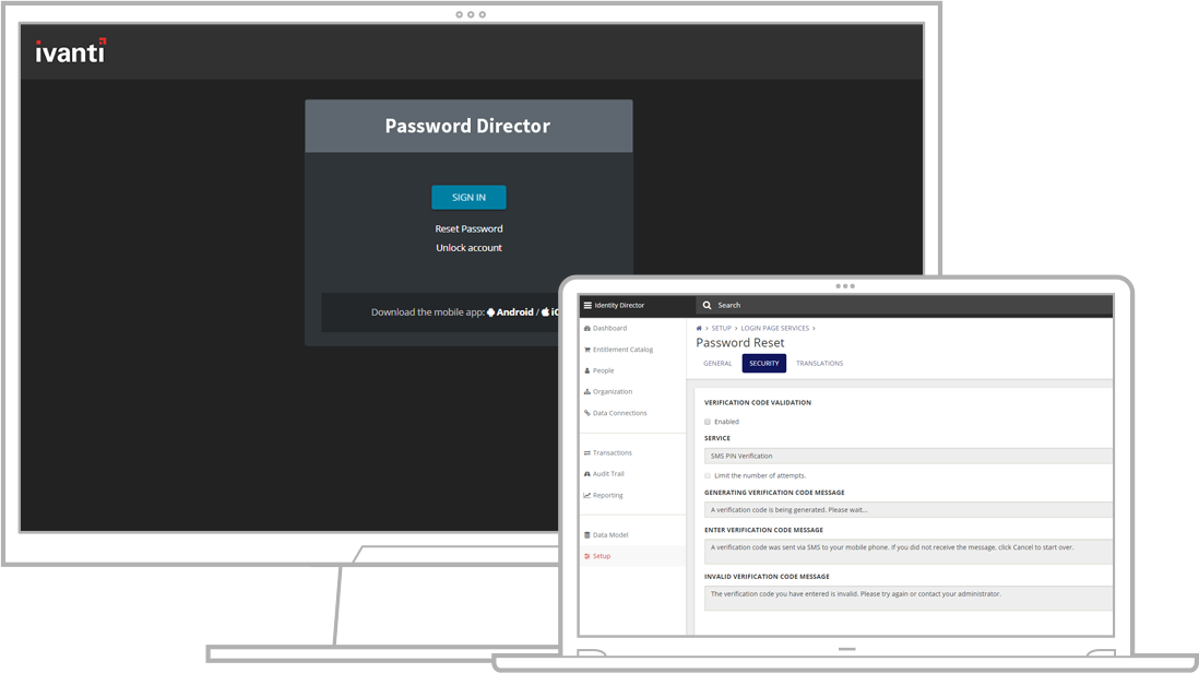 Password Reset Software | Ivanti