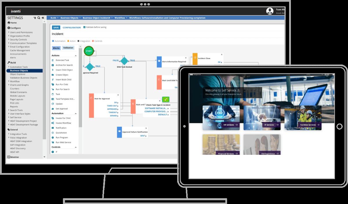 ivanti service management screenshots