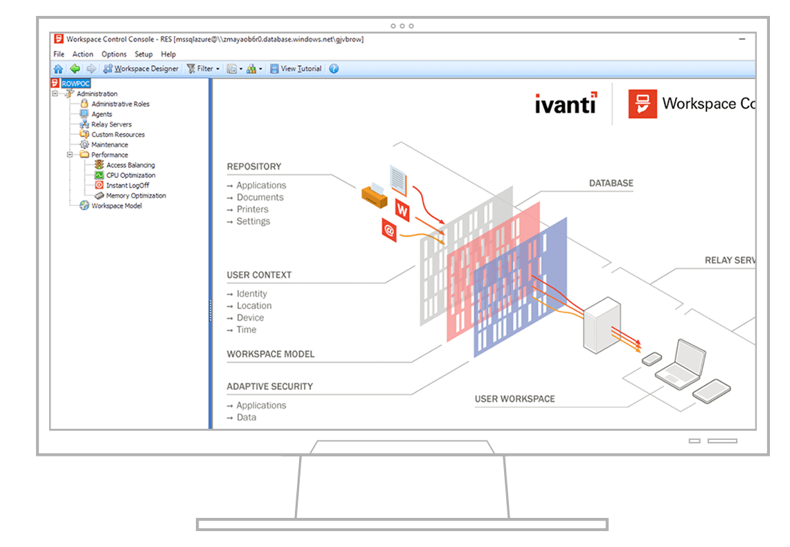 ivanti workspace control screenshot